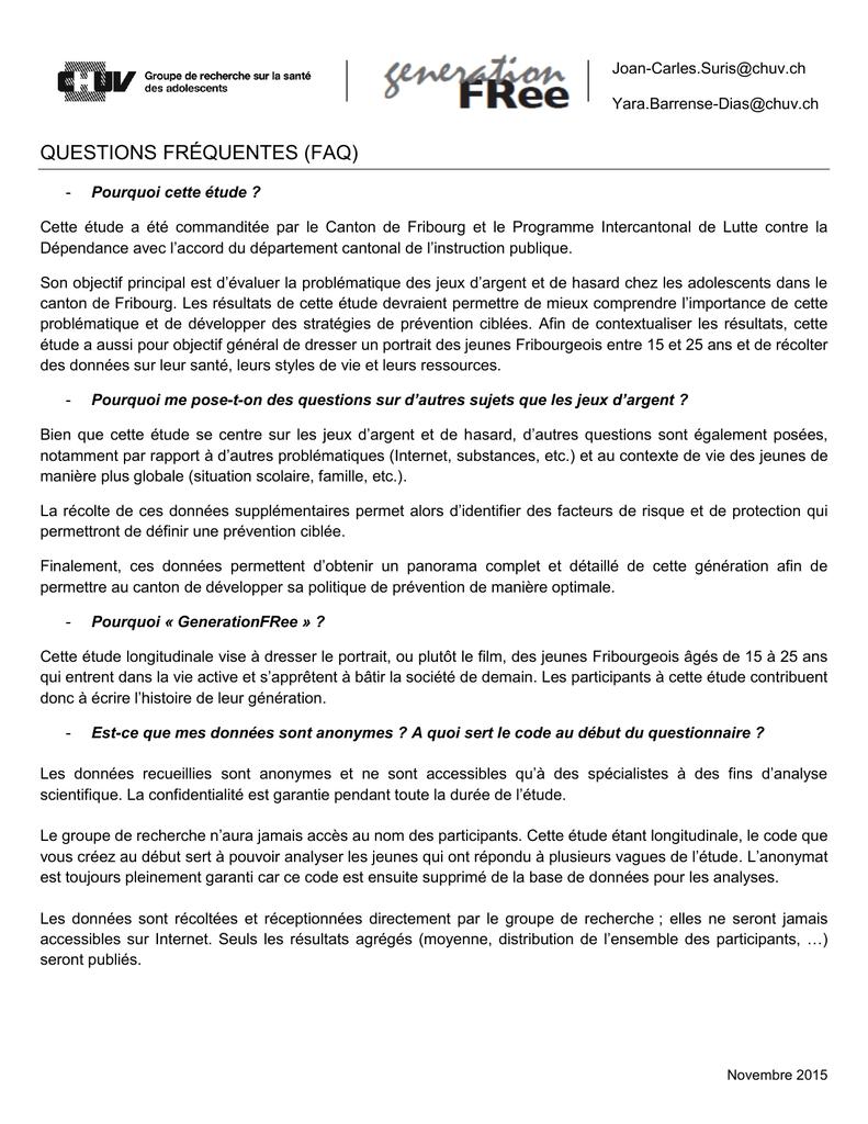 Questions Fréquentes (Faq) dedans Jeux Avec Des Questions