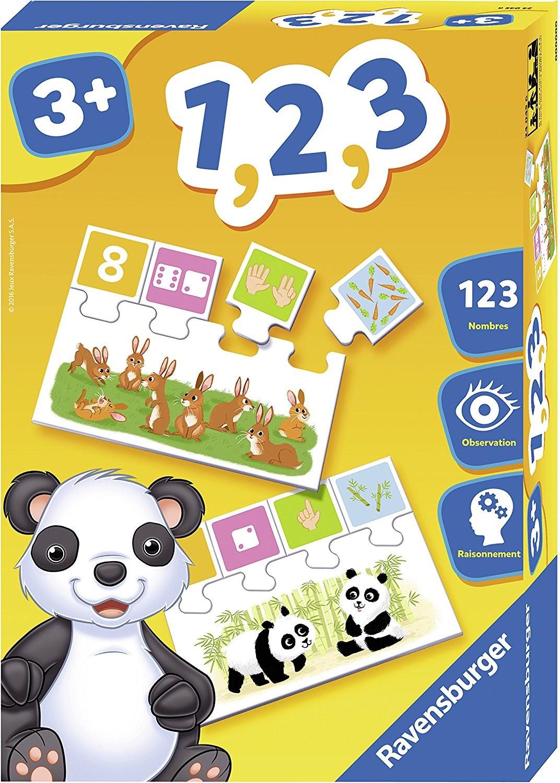 Ravensburger Jeu Educatif 1 2 3 - 3 Ans + - Age - Jouets pour Jeux Educatif 3 Ans