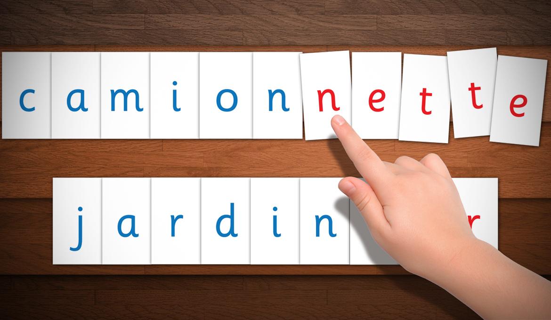 Réaliser Les Lettres Mobiles De Montessori : Modèles à Modele Alphabet Majuscule