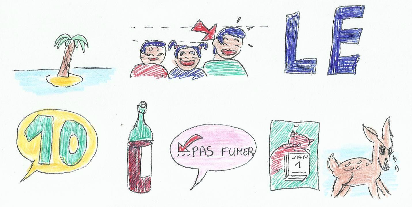 Rébus De Noël - Association Libzone dedans Rebus Noel