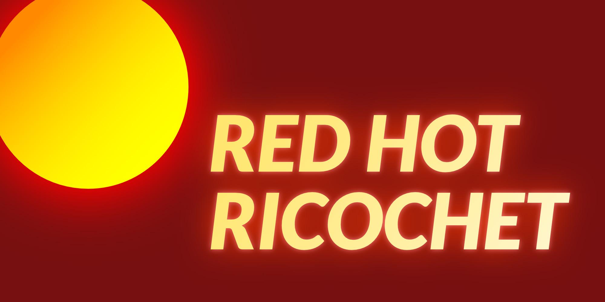 Red Hot Ricochet | Jeux À Télécharger Sur Nintendo Switch intérieur Ricochet Jeu