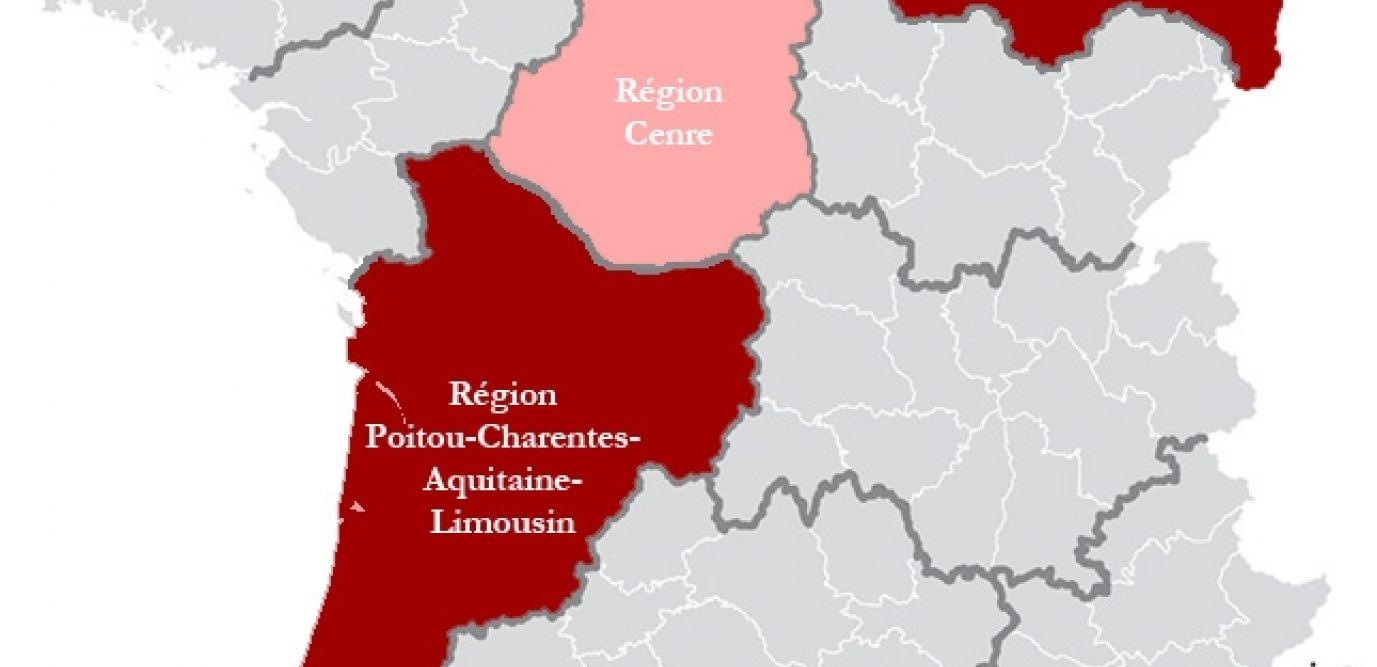 Réforme Territoriale : De 22 À 14 Régions, Puis 13 dedans Carte Des 13 Régions