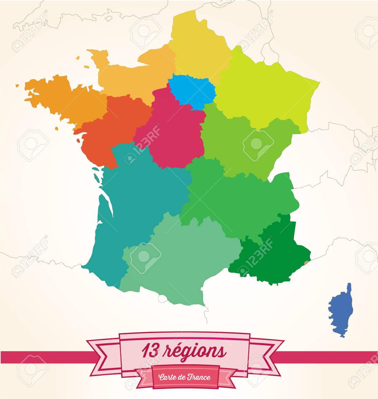 Regions From France à Les 13 Régions