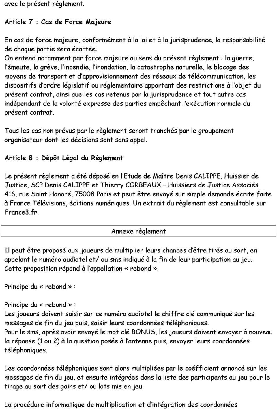 Reglement Du Jeu Concours Questions Pour Un Champion - Pdf dedans Jeux Avec Des Questions