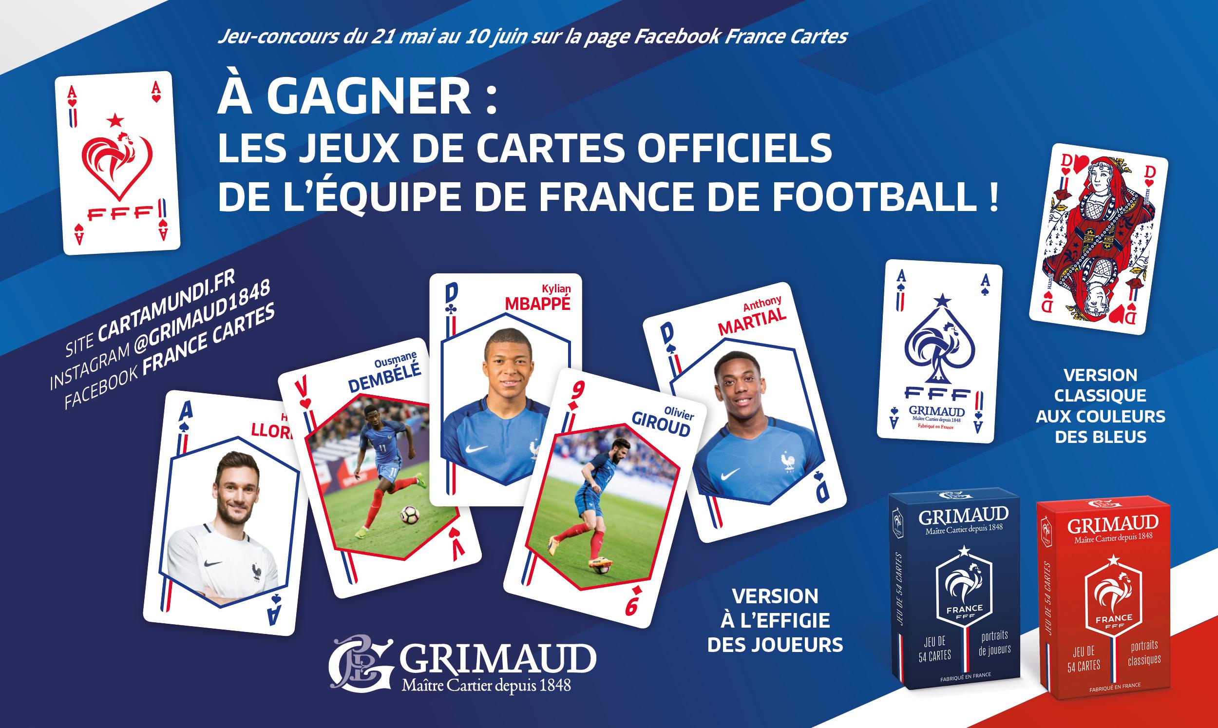 Règlement Jeu-Concours Facebook Des Bleus - France Cartes destiné Jeu Carte De France