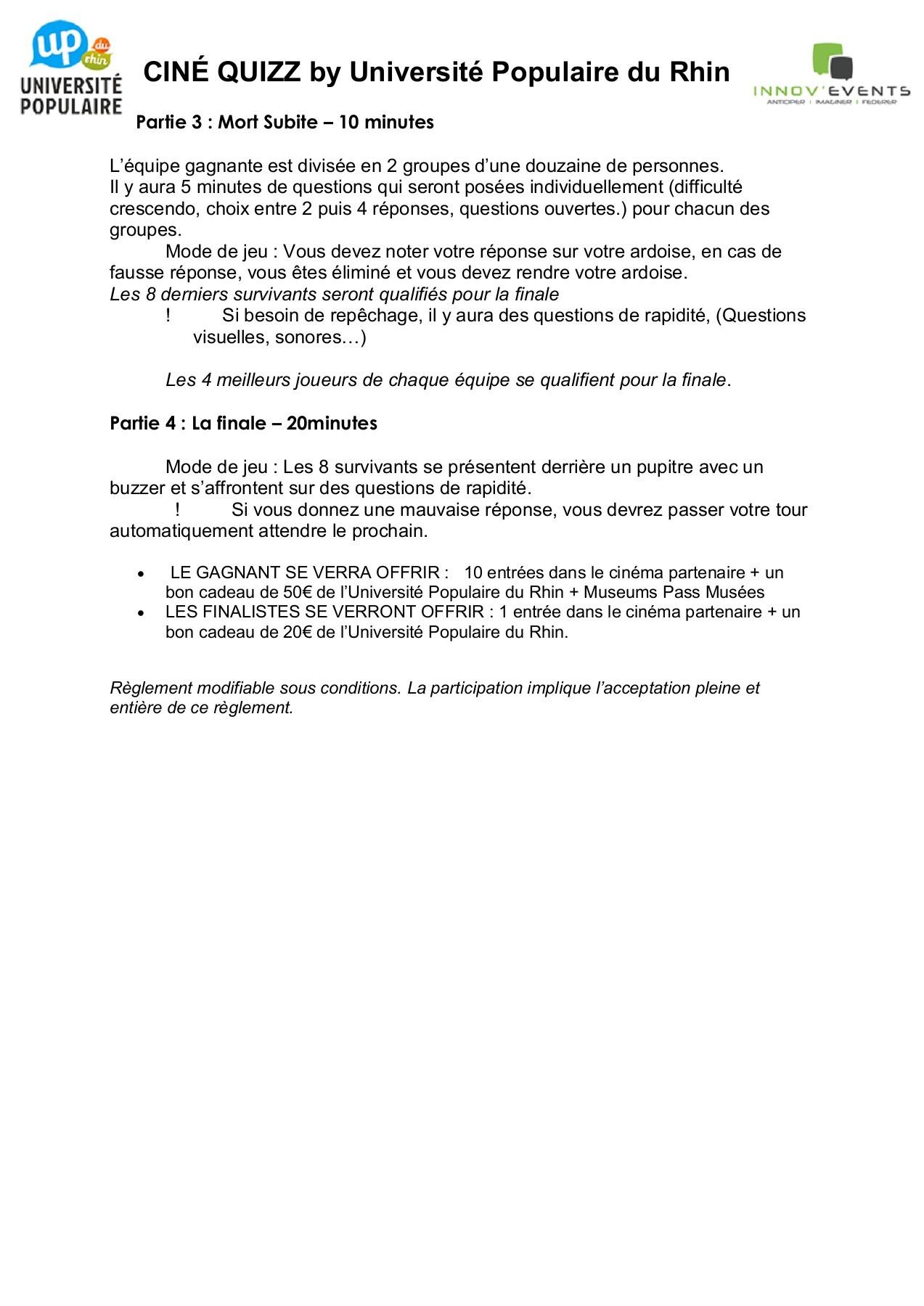 Reglement Jeu Palace | Fliphtml5 pour Question Reponse Jeu