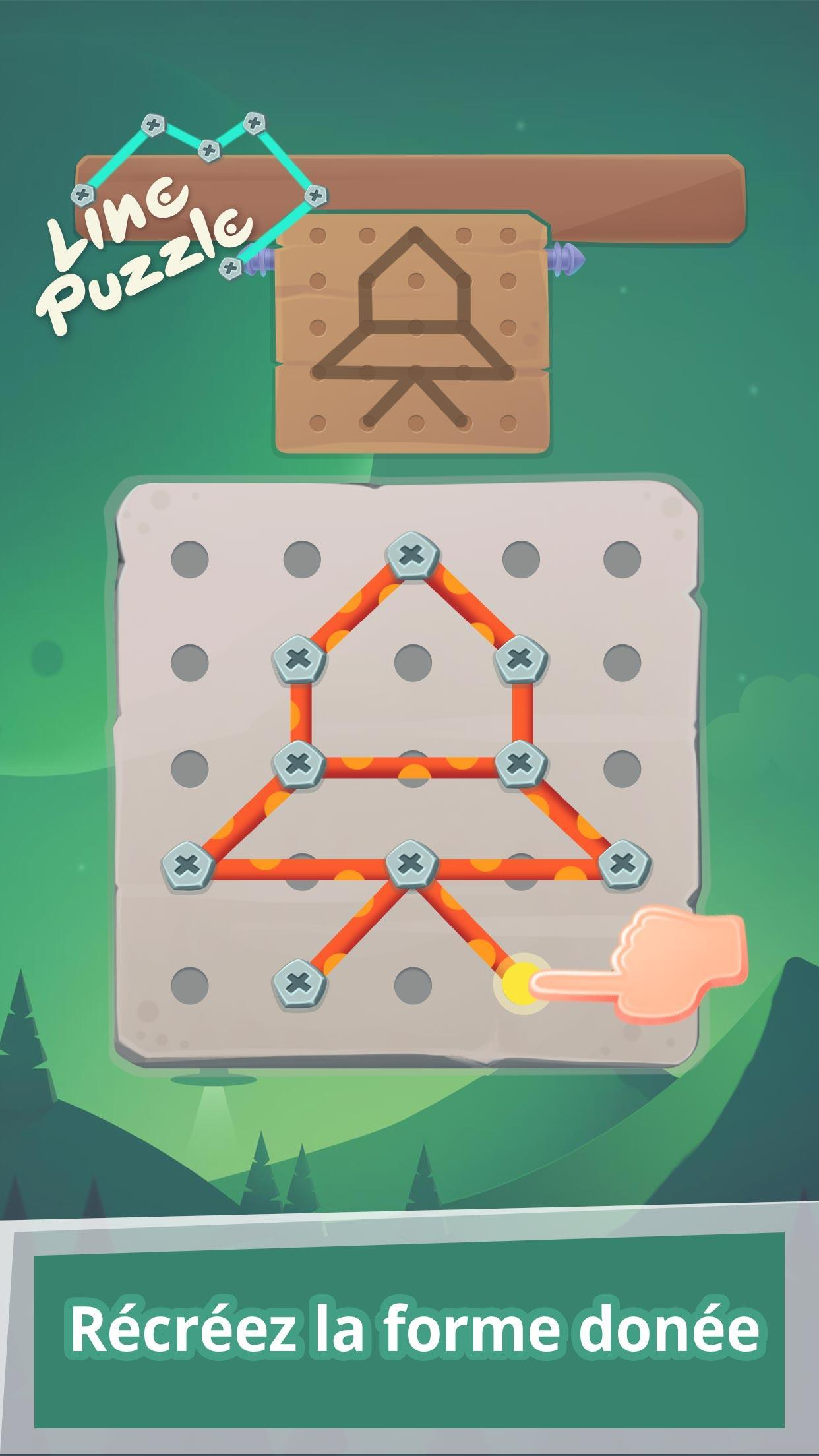 Relier Les Points : Jeu De Puzzle Case Tête Pour Android destiné Jeux Relier Les Points