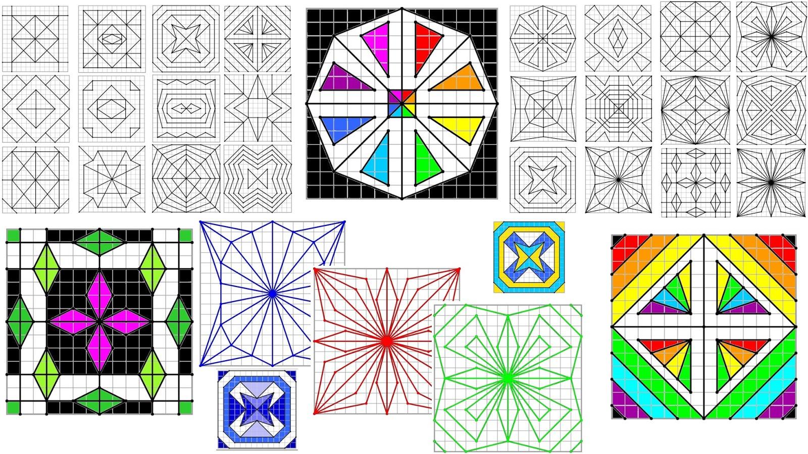 Remue Méninge: Reproduction De Figures Géométriques serapportantà Reproduction De Figures Sur Quadrillage