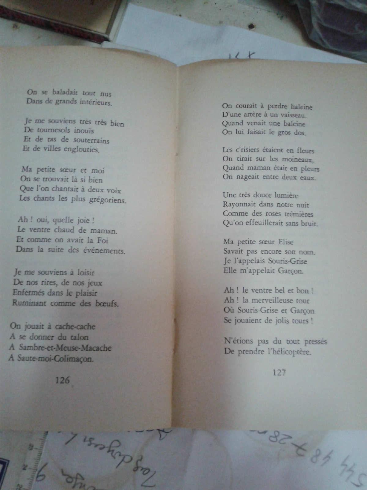 Rene De Obaldia Poemes Paris 1969 *kargo Bizden concernant Jeux De La Petite Souris