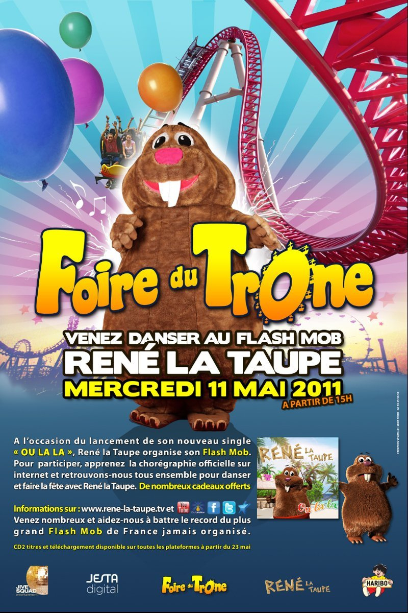 René La Taupe À La Foire Du Trône - Sortiraparis avec La Taupe Musique