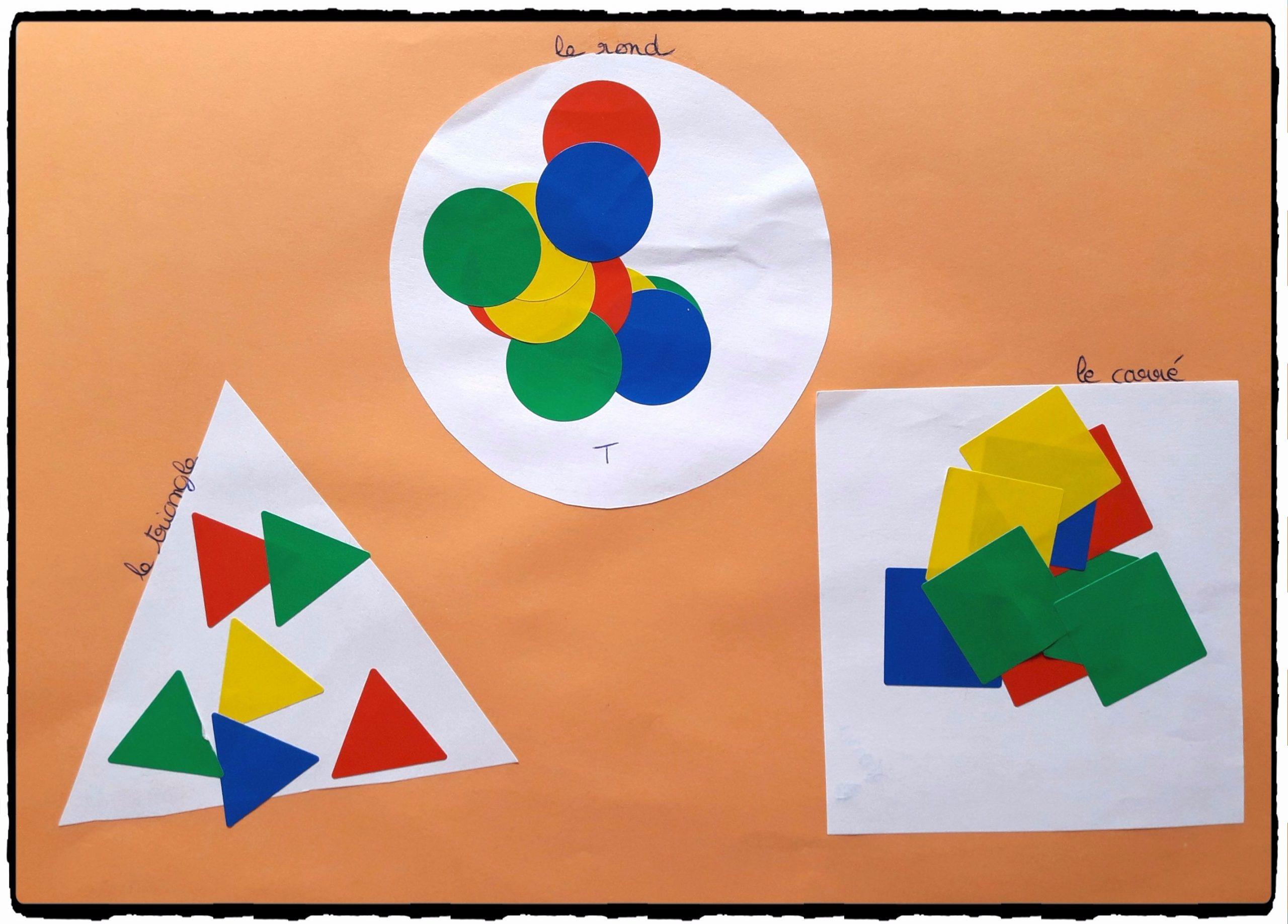 Repérer Les Formes Géométriques - avec Les Formes Geometrique