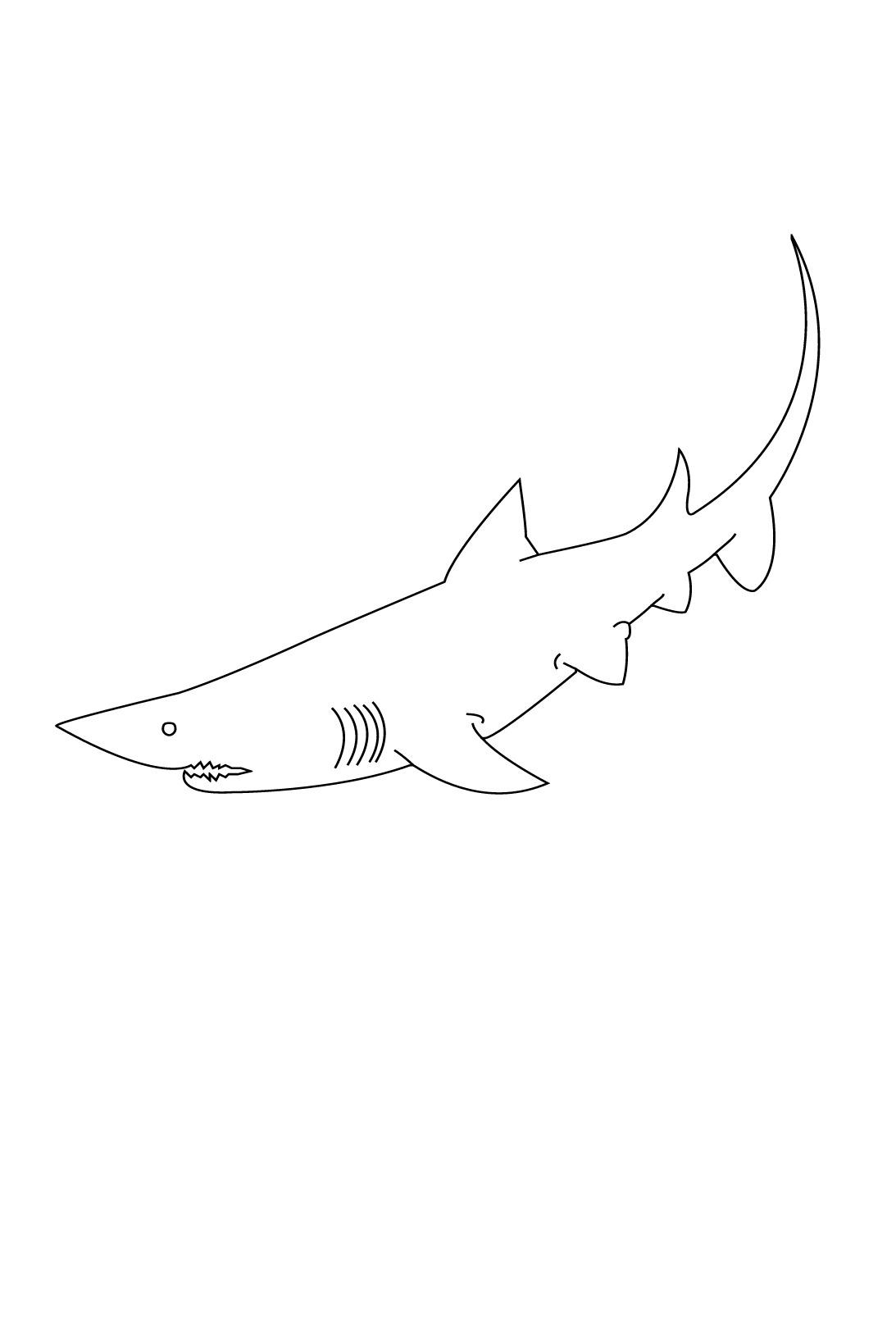 Requin #102 (Animaux) – Coloriages À Imprimer intérieur Coloriage Requin À Imprimer