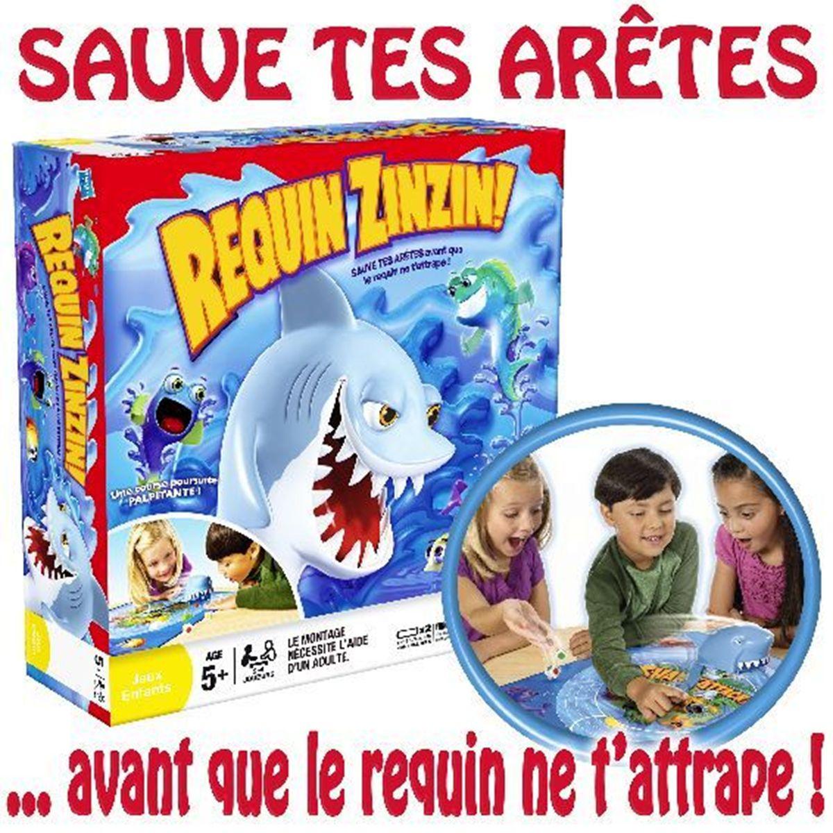 Requin Zinzin - Jeux D'action Et D'adresse - La Grande Récré destiné Jeu De Societe Requin