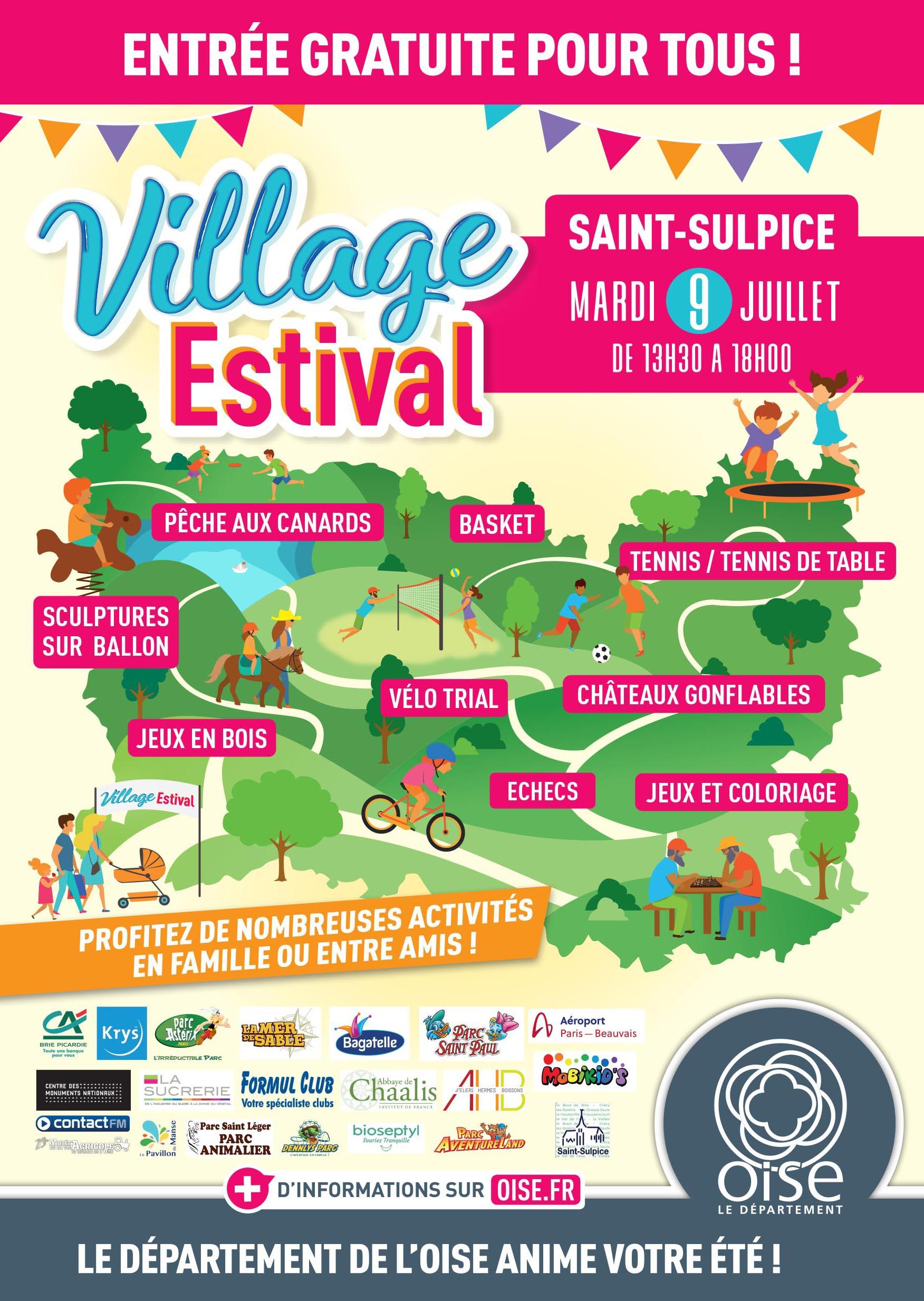 Réseau Oise tout Jeux Gratuit De Village