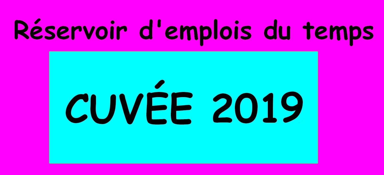 Réservoir D'emplois Du Temps - Cuvée 2019 ! - Le Tour De Ma pour Programme Grande Section Maternelle Gratuit