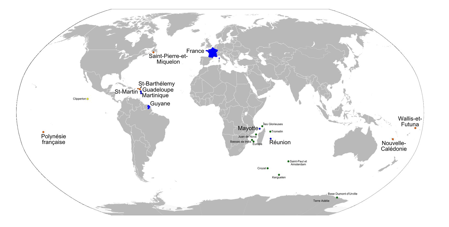 Ressources Éducatives Libres - Data.abuledu | Les encequiconcerne Carte France D Outre Mer