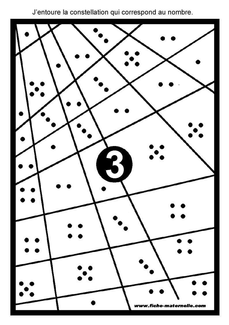 Ressources Pédagogiques Ms Et Gs : Les Constellations pour Coloriage Codé Moyenne Section