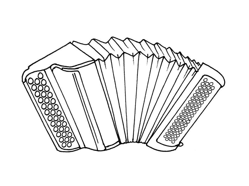 """Résultat De Recherche D'images Pour """"dessin Accordeon avec Image Instrument De Musique À Imprimer"""