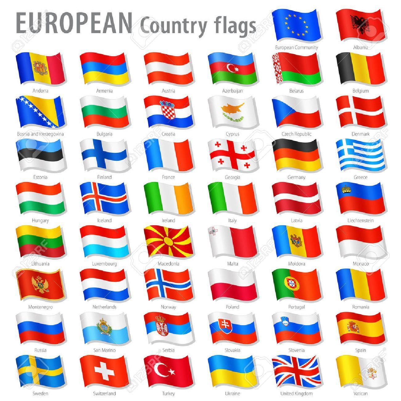 """Résultat De Recherche D'images Pour """"drapeaux Européens Avec tout Drapeaux Européens À Imprimer"""