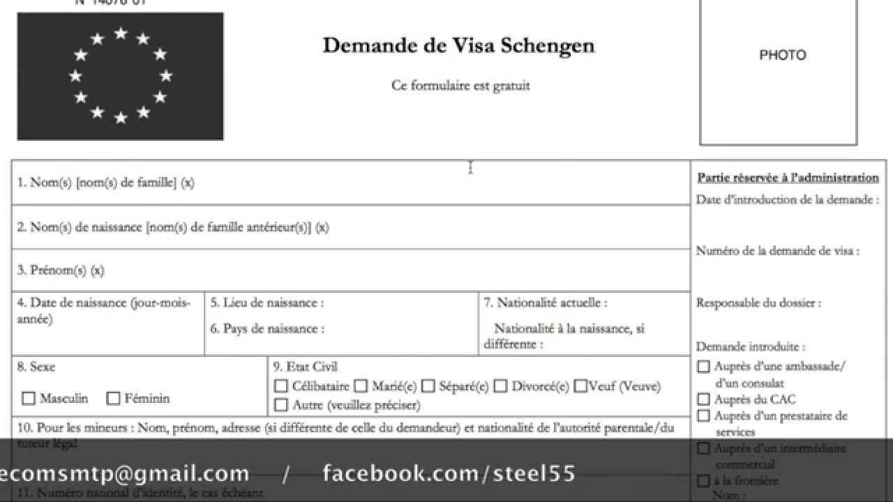 """Résultat De Recherche D'images Pour """"remplir Formulaire Visa pour Carte De France A Remplir"""