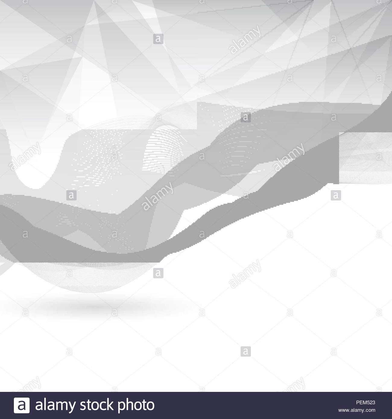 Résumé De Couleur Gris Et Blanc Avec Des Lignes Poly Bas encequiconcerne Dessin De Vague A Imprimer