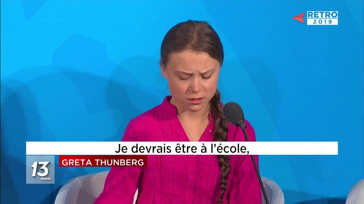 Rétro 2019 : Greta Thunberg - 23/12/2019 encequiconcerne Jeux De Catastrophe Naturel Gratuit