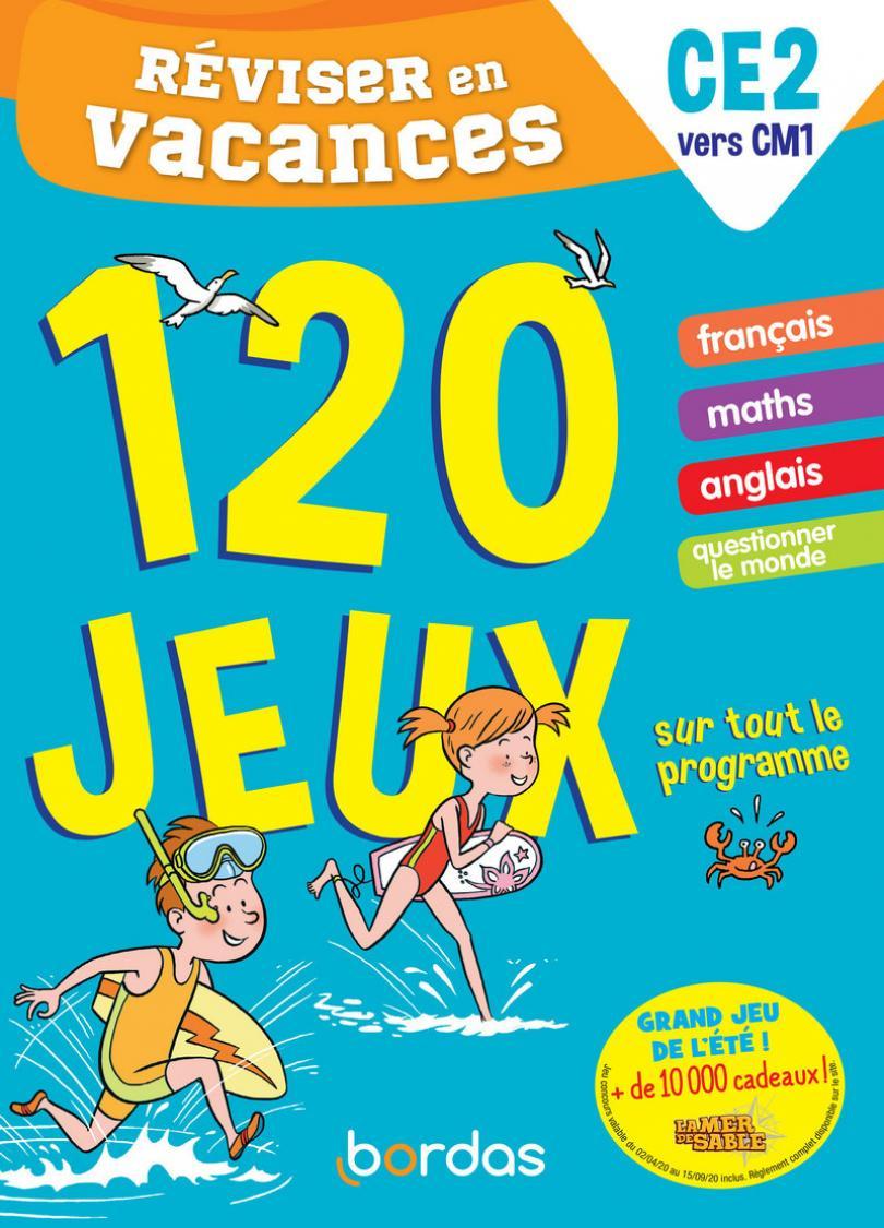 Réviser En Vacances Du Ce2 Au Cm1 - 120 Jeux Sur Tout Le dedans Cahier De Vacances Moyenne Section A Imprimer