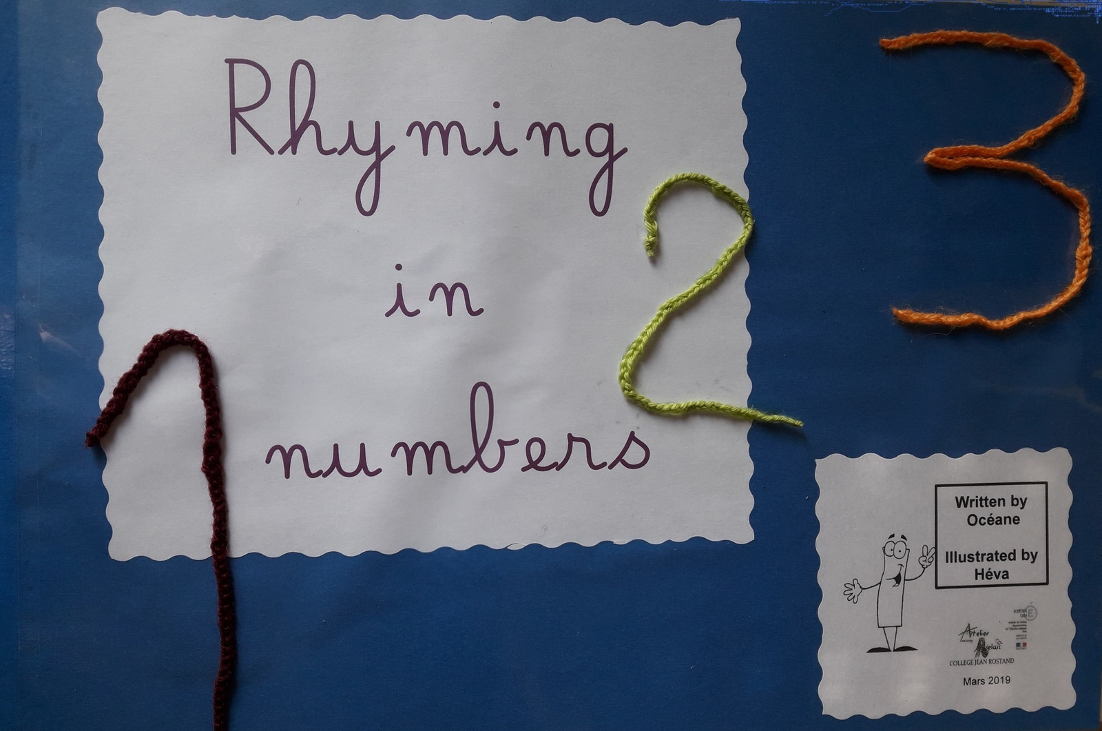 Rhyming In Numbers, Une Comptine Pour Apprendre À Compter De intérieur Apprendre A Compter Maternelle