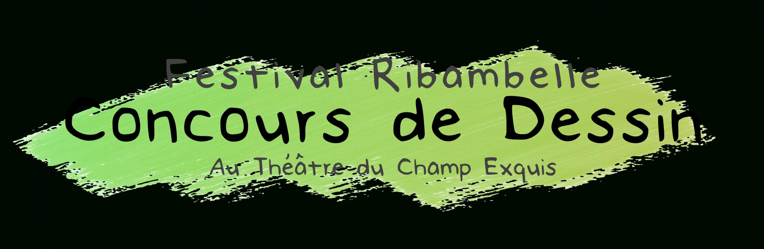 Ribambelle 2020 : Concours De Dessin - Théâtre Du Champ Exquis pour Dessin Theatre