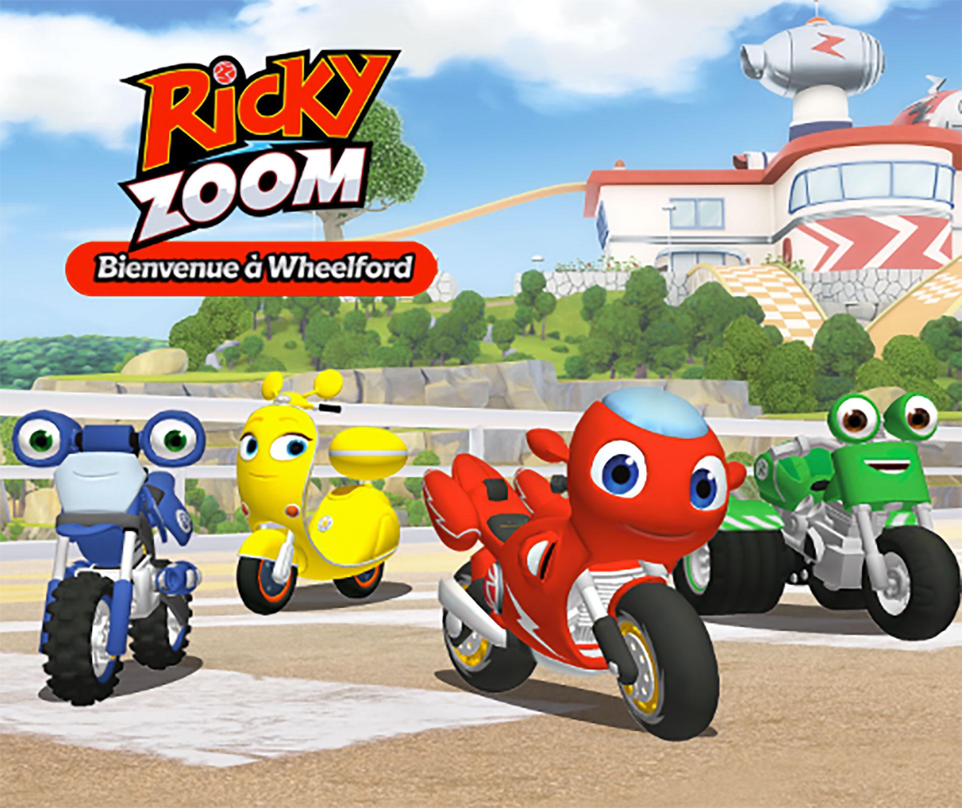 Ricky Zoom : Bienvenue À Wheelford, Une App Gratuite Pour dedans Jeux Moto En Ligne Gratuit