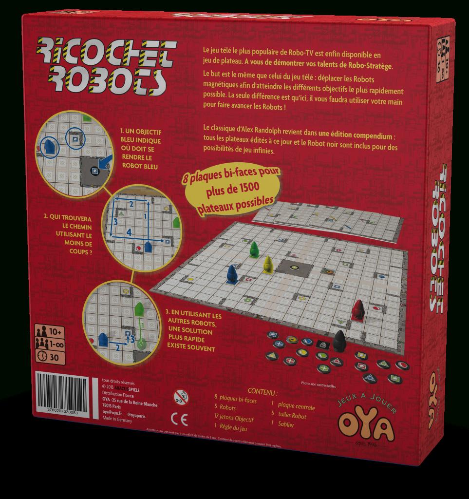 Ricochet Robots Et Micro Robots 2017 - Oya destiné Ricochet Jeu