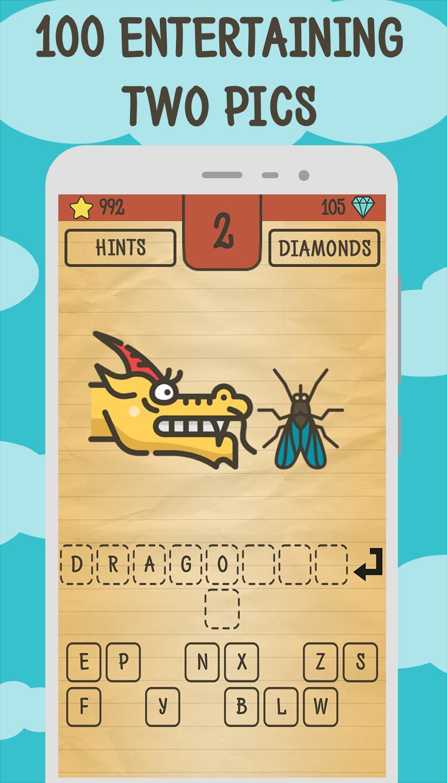 Riddles, Rebus Puzzles And Two Pics Pour Android avec Jeux De Rebus