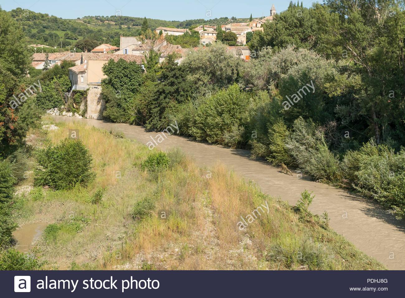 Roaix, Provence-Alpes-Côte D'azur, France. 10 August, 2018 avec Region De France 2018