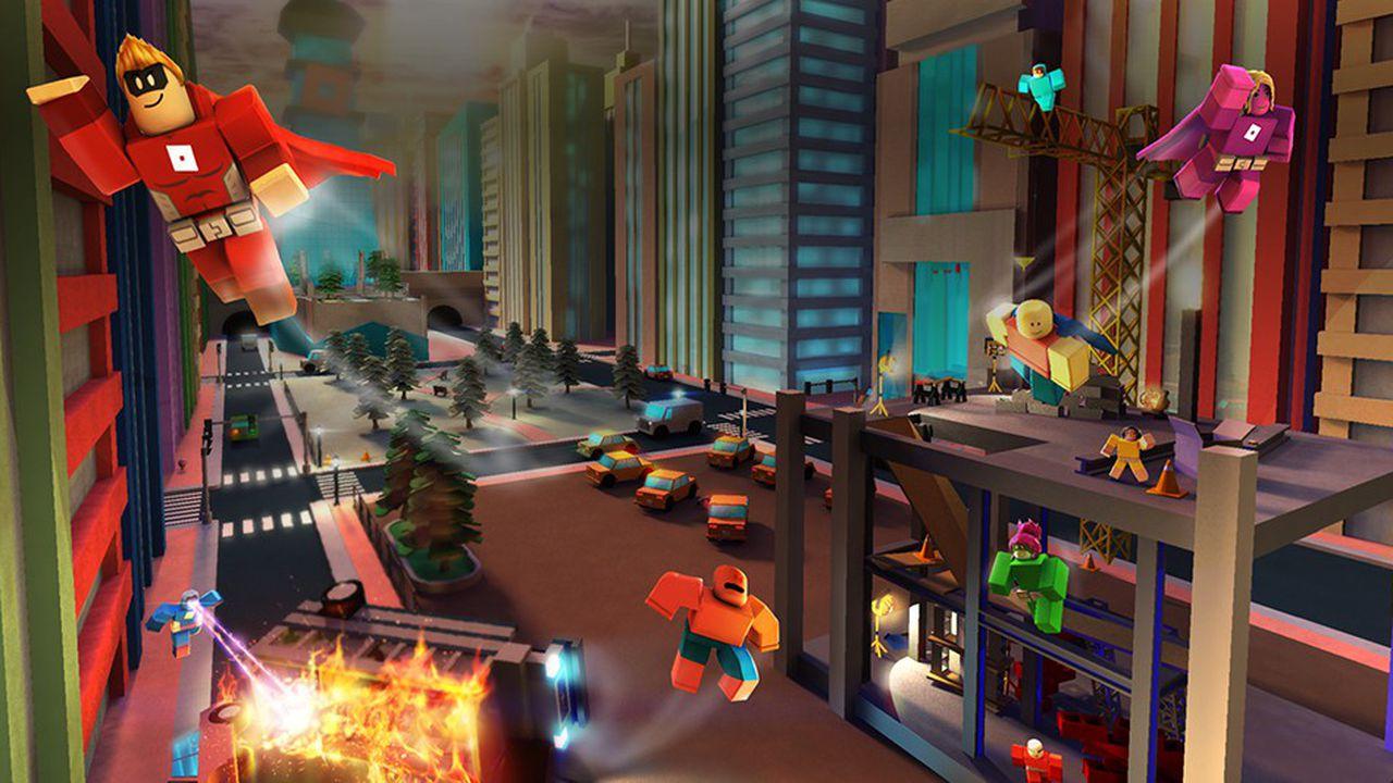 Roblox, Le Jeu Vidéo À 2,5 Milliards De Dollars | Les Echos encequiconcerne Jeux Video Enfant 5 Ans