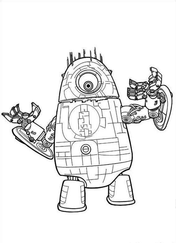 Robot #15 (Personnages) – Coloriages À Imprimer destiné Coloriage Robot À Imprimer