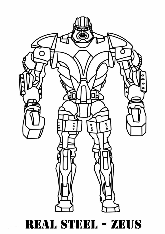 Robot #29 (Personnages) – Coloriages À Imprimer destiné Coloriage Robot À Imprimer