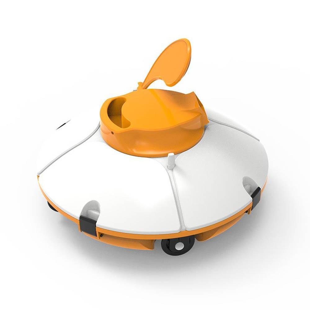 Robot Aspirateur Sans Fil Bestway Frisbee Pour Piscines À Fond Plat pour Coloriage Aspirateur