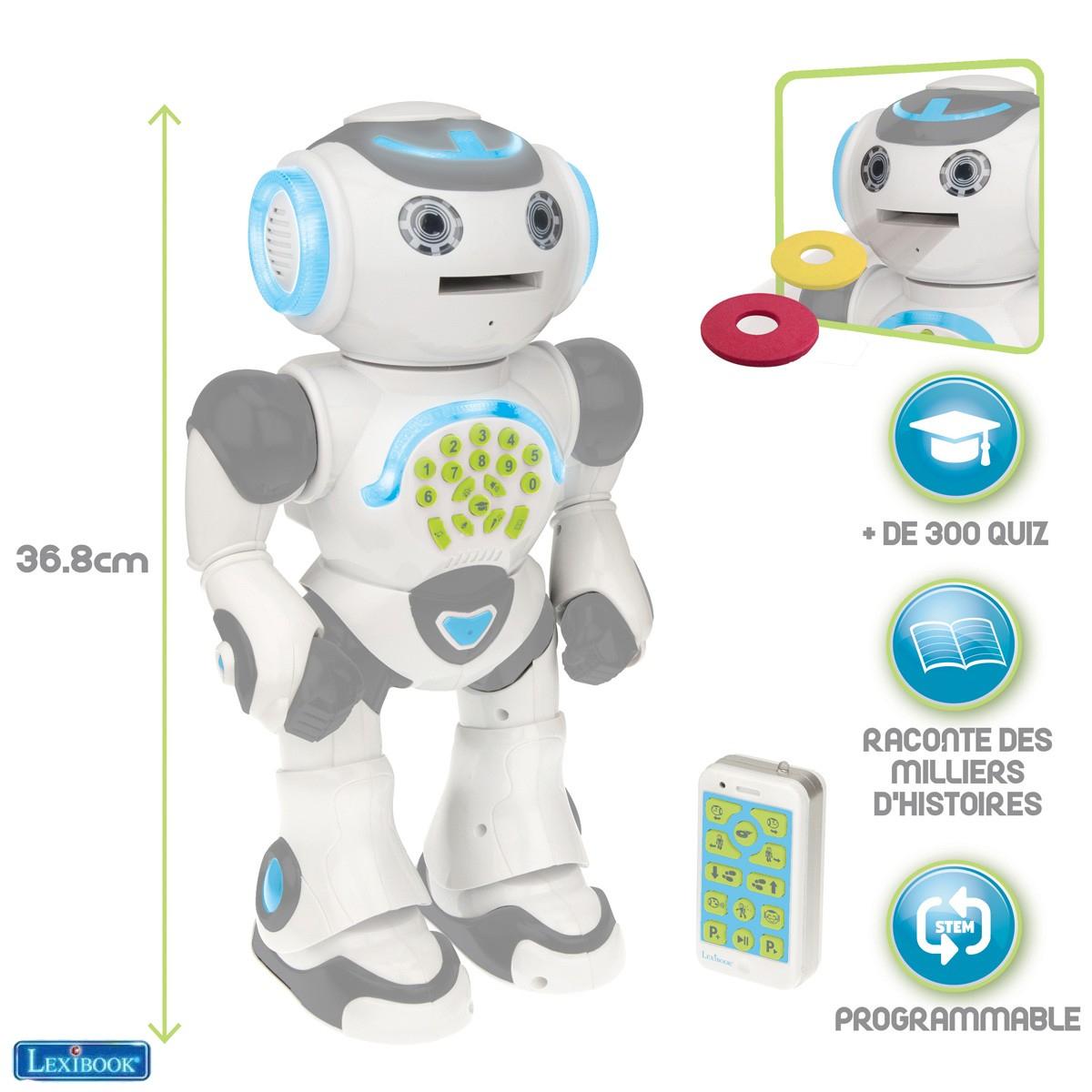 Robot Éducatif & Programmable Powerman® Max tout Logiciel Éducatif En Ligne