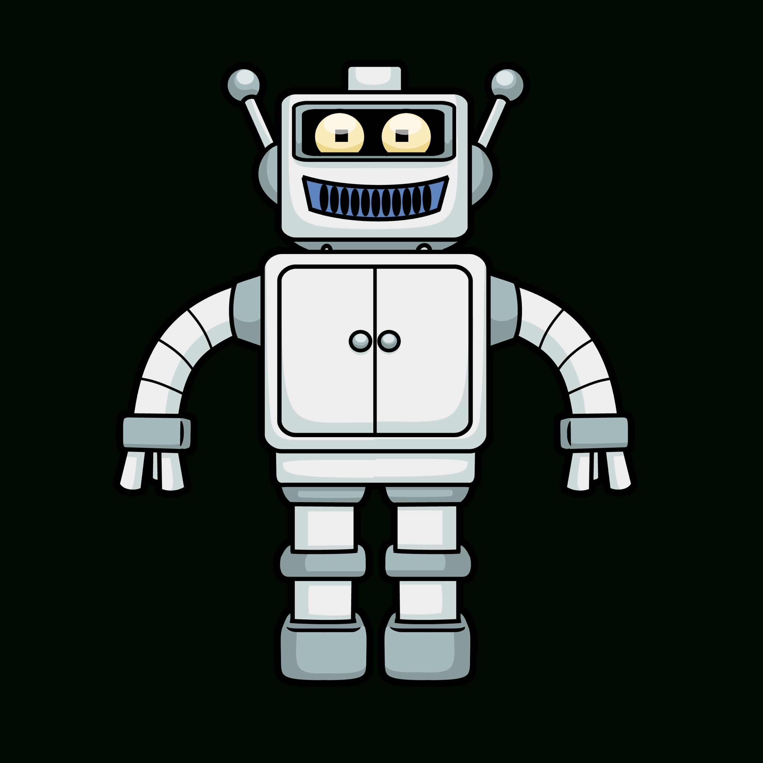 Robot Png à Coloriage Robot À Imprimer