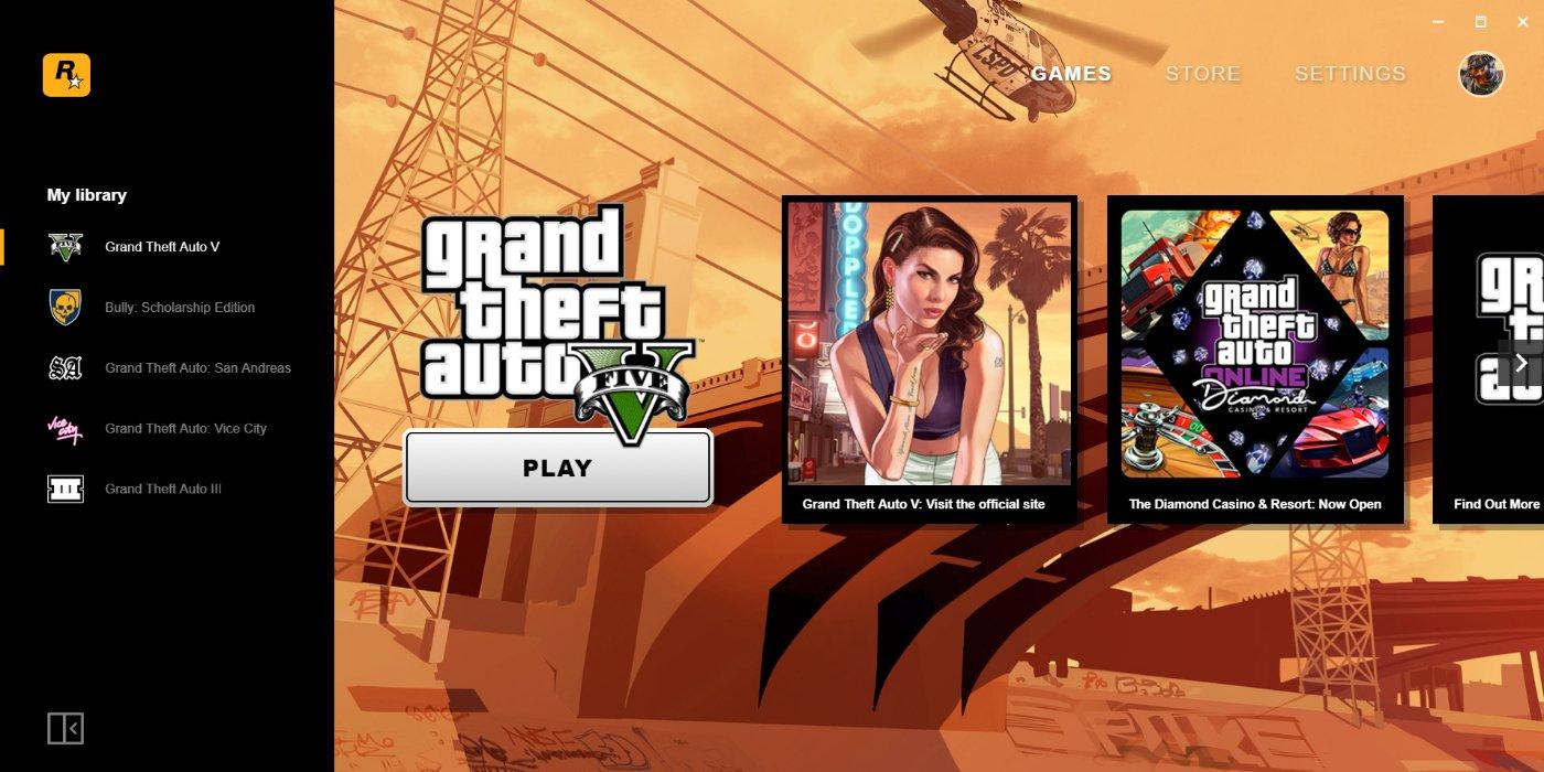 Rockstar A Son Propre Lanceur De Jeux (Et Gta San Andreas intérieur Jeux De Grand Gratuit