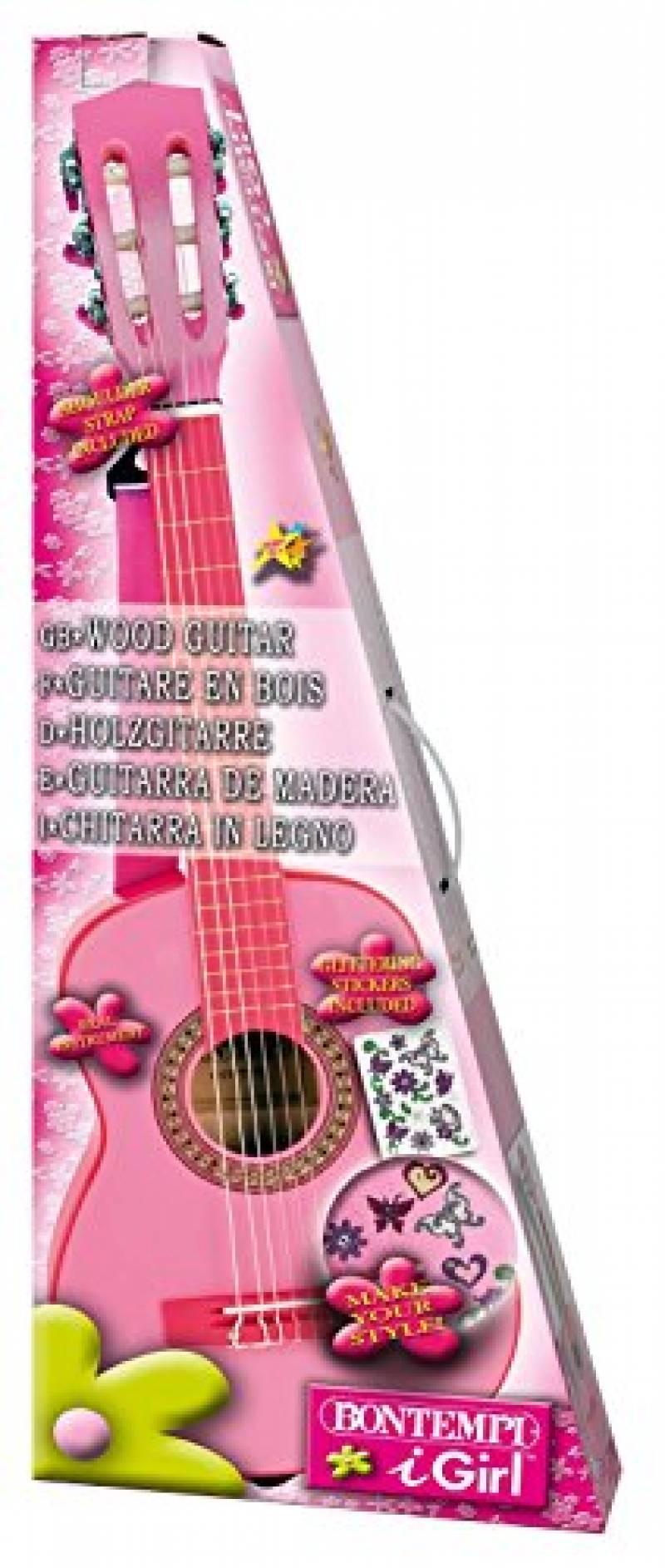 Rolanli Guitare Enfant 6 Cordes 59Cm Guitare De Simulation avec Jeu Des Instruments De Musique