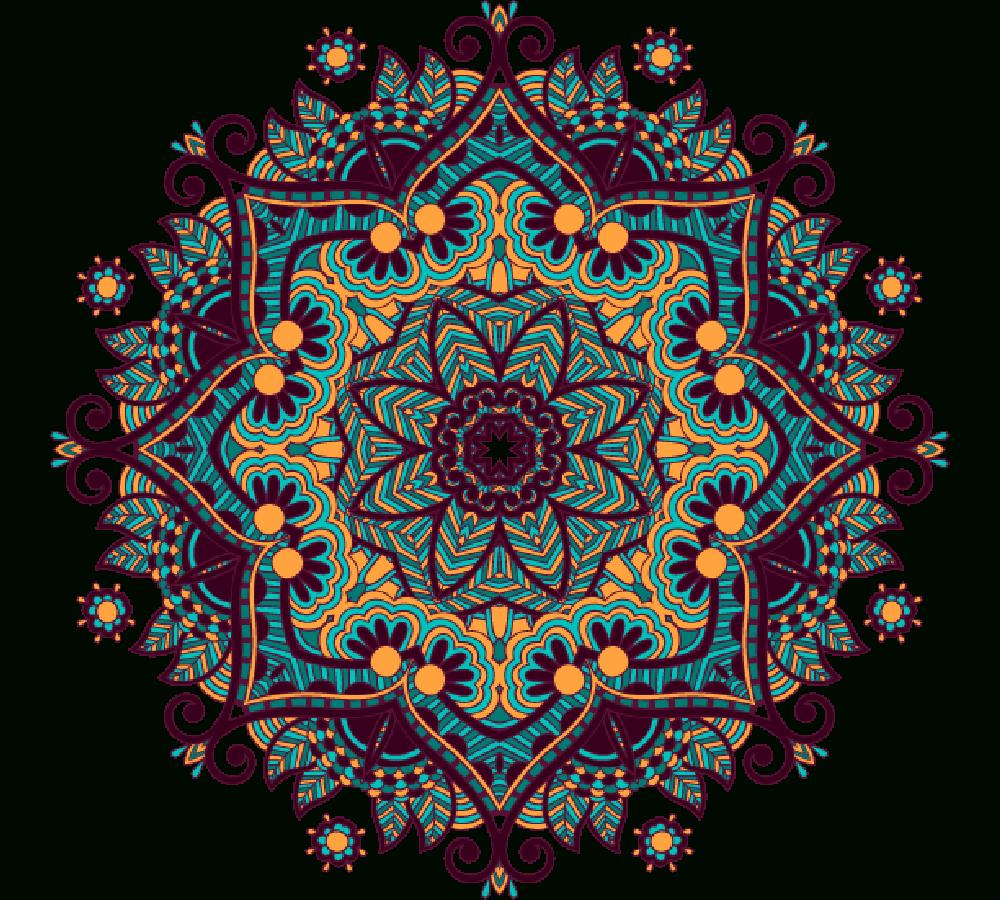 Rosace Png 6 » Png Image intérieur Image De Rosace