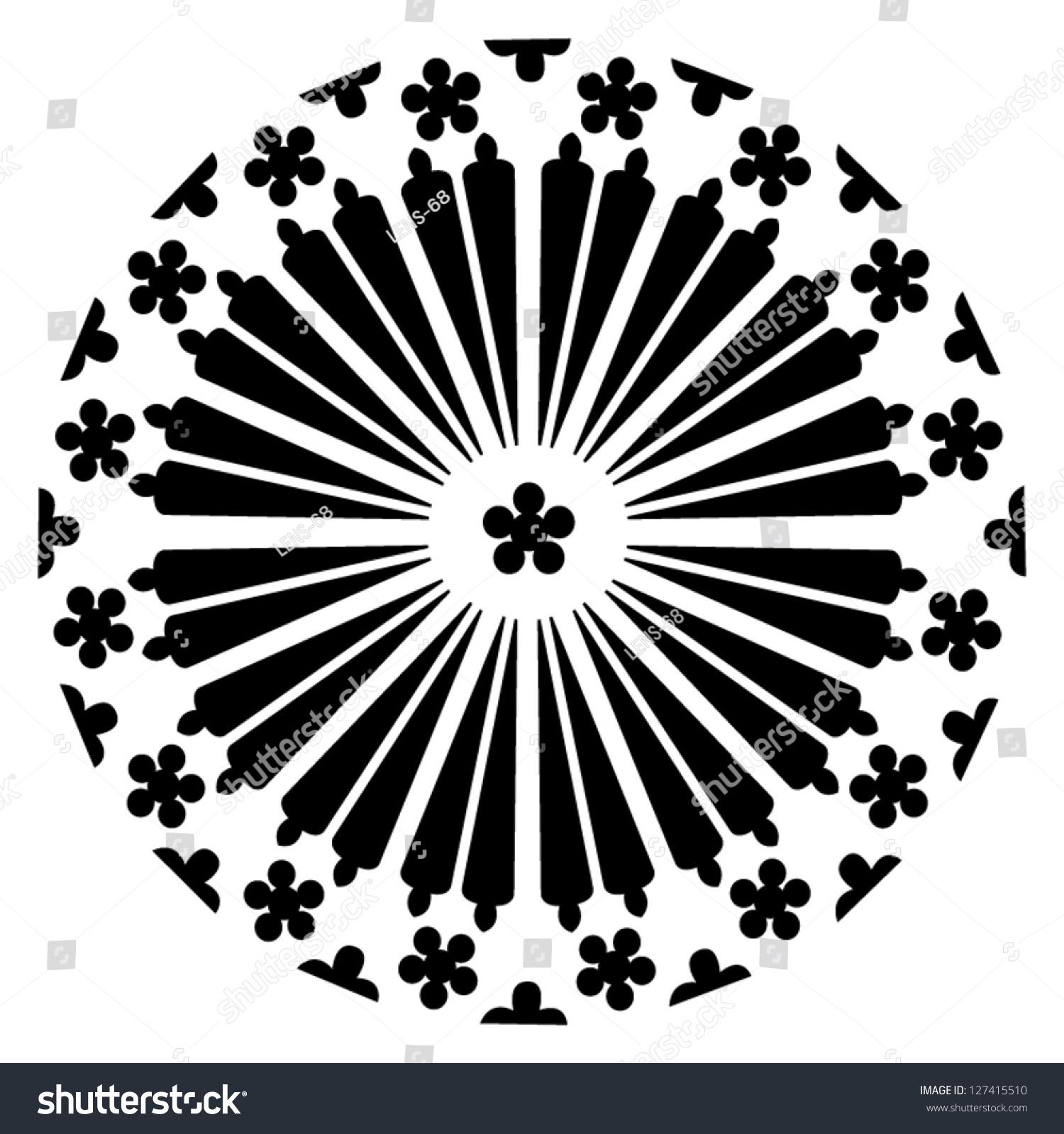 Rosace Stok Vektör (Telifsiz) 127415510 serapportantà Image De Rosace