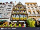 Rouen, France - September 03, 2017: Beautiful Houses On The pour Region De France 2017