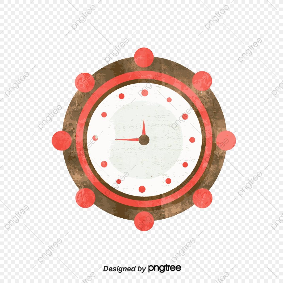 Rouge De Dessin D'horloge, Horloge, Le Dessin De L'horloge pour Dessin D Horloge