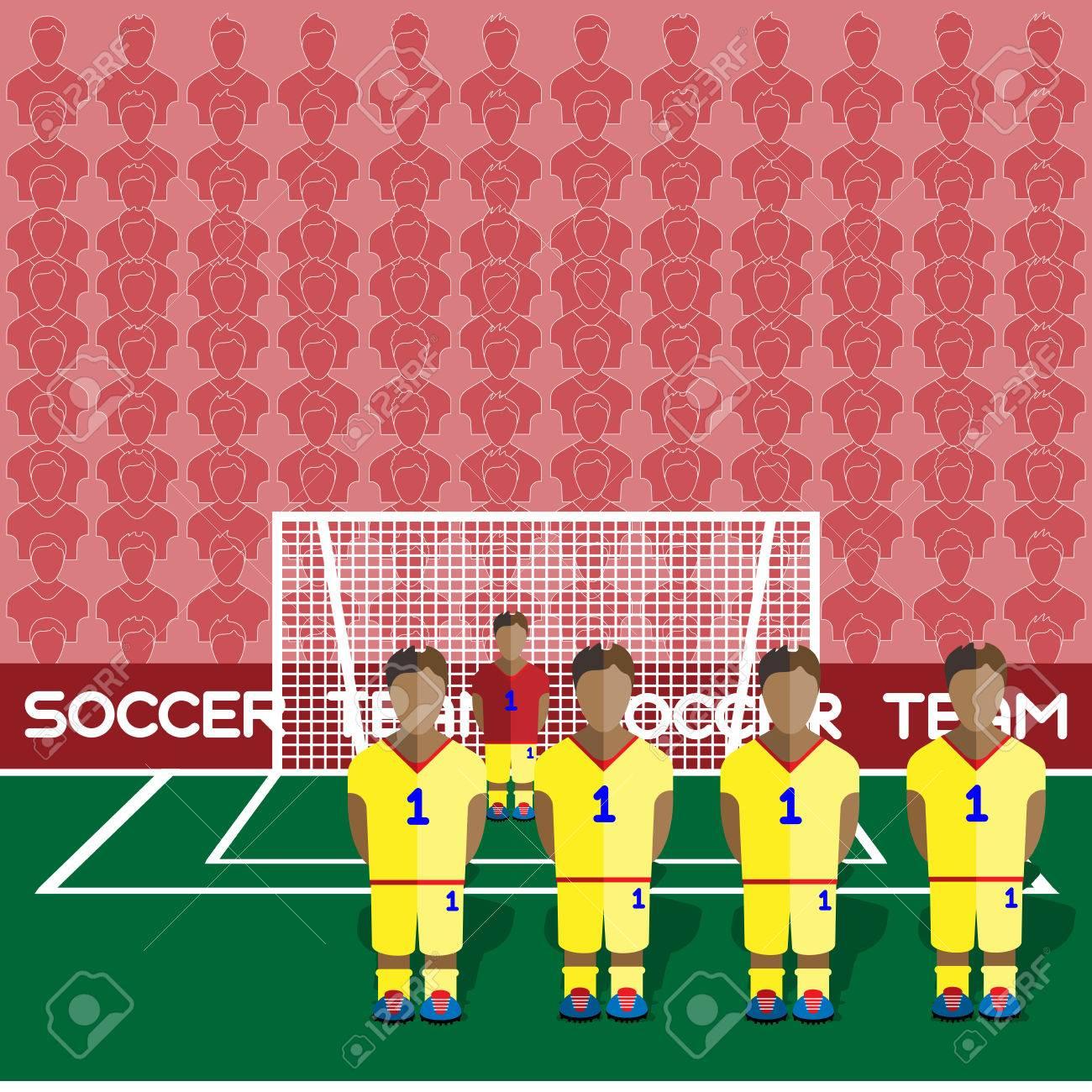 Roumanie Football Club Soccer Players Silhouettes. Jeux Rmatiques  Équipe De Football Joueurs Big Set. Graphique Sportif. Les Équipes De avec Jeux De Gardien