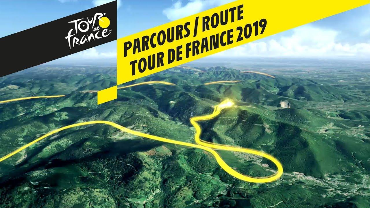 Route In 3D - Tour De France 2019 intérieur Mappe De France