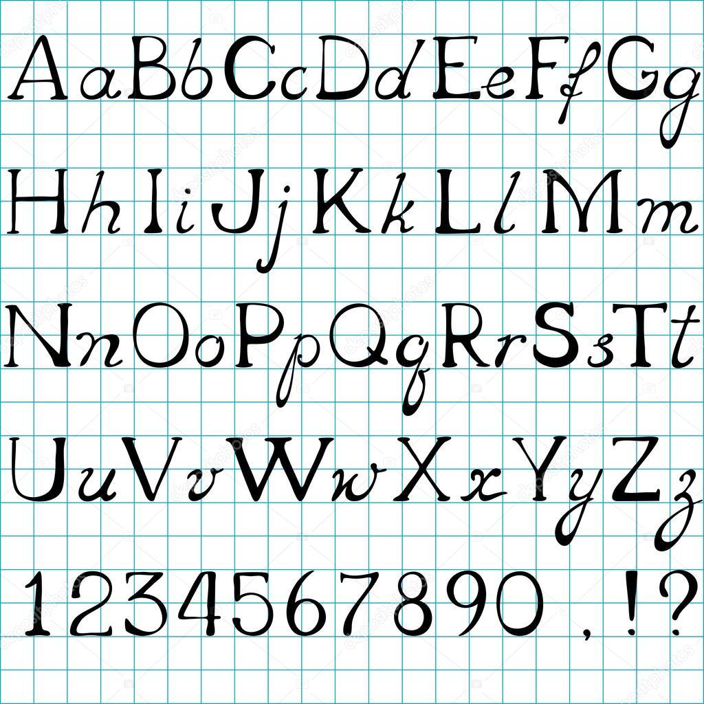 Rtf] Alphabet Minuscule destiné Alphabet Majuscule Et Minuscule
