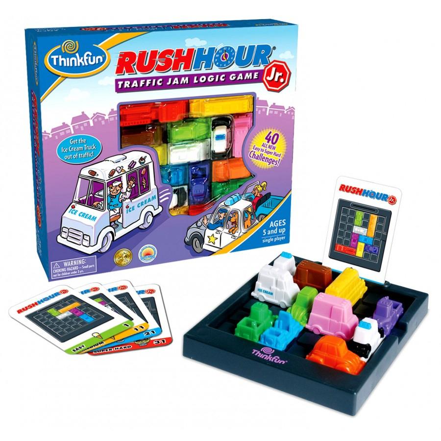 Rush-Hour-Jeu-Voyage-Voitures-Coincées-Traffic-Trafic-Auto concernant Jeu Logique Enfant