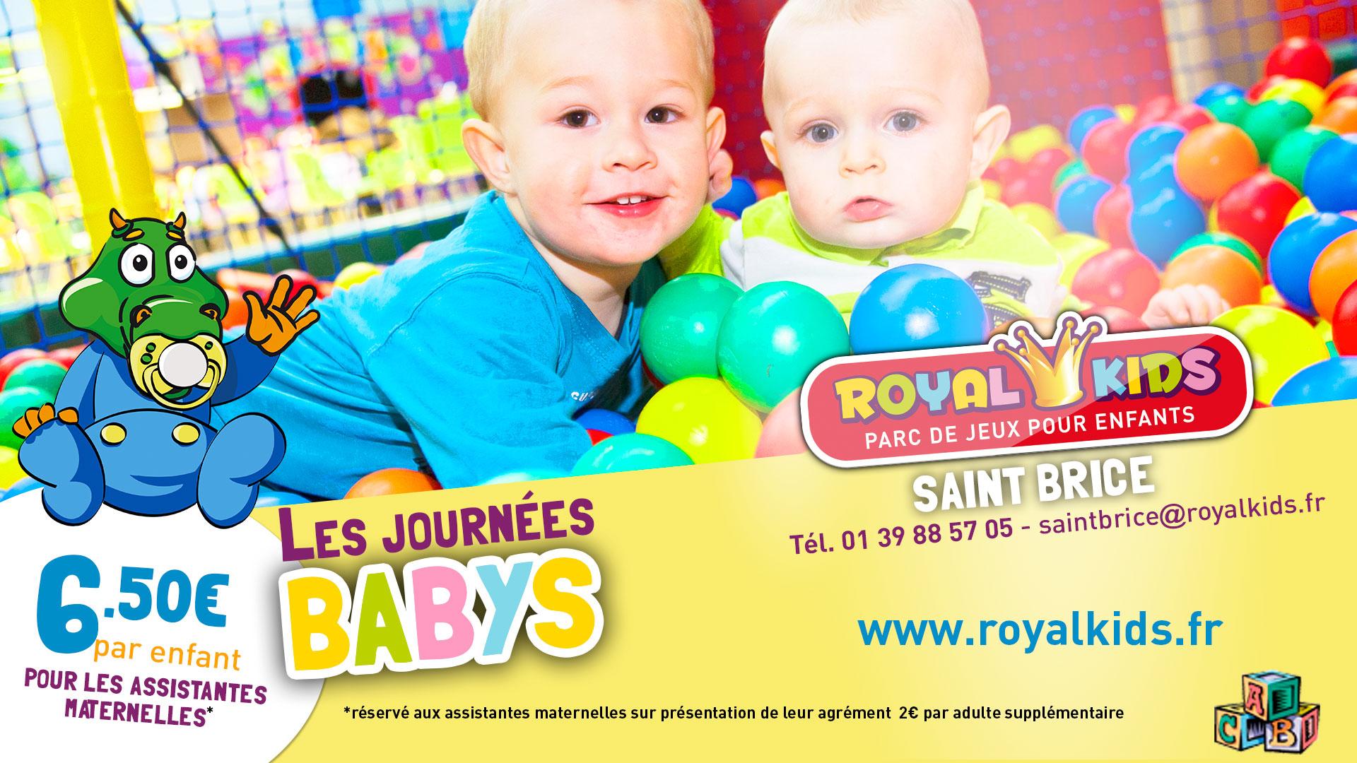 Saint Brice Sous Foret | Royal Kids à Jeux Pour Les Bébé De 1 Ans